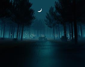 Fantasy Beutiful World in Blender 3D