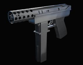3D Tec-9 Gun