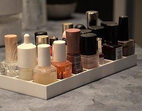 Nail polish storage box 3D print model
