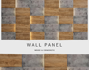 Wall Panel 27 3D