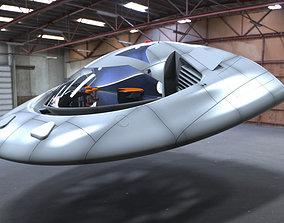 3D model Spaya Personal Hovercraft