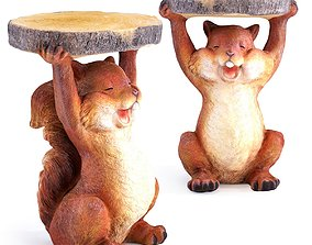 3D SIDE TABLE ANIMAL MINI SQUIRREL