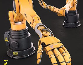 3D model Kuka Hand Robot HW