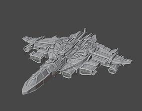 3D print model Spaceship-Bigboss