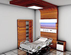 Hospital Room 3D model ambulance