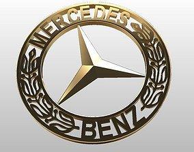 3D print model Sign of Mercedes