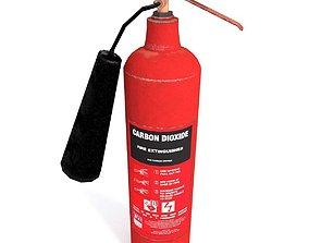 3D asset VR / AR ready Extinguisher