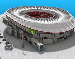 3D model Wanda Metropolitano Stadium
