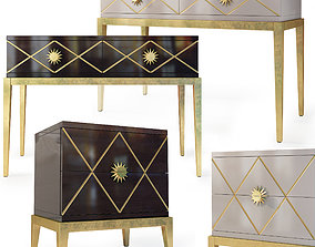 3D Console dresser nightstand Gatsby by Cavio Casa