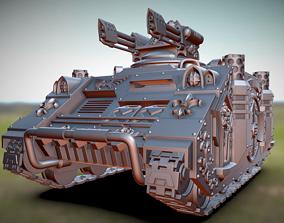 3D printable model Space Nun Flamer Tank