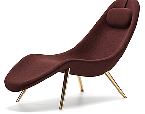 3D model Pause chaise lounge