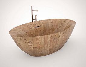 3D Freestanding Bath Alegna Laguna Pearl