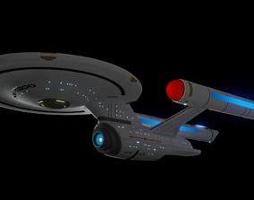 Phoenix Class Crusier v2 warp 3D