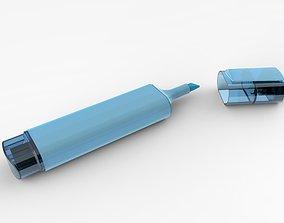 Blue Marker 2 3D model