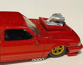 1 64 scale Pro Street Drag Set Weld 3D printable model 2