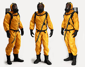 3D Biological Protection Suit