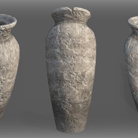 Game Art : Cracked Vase
