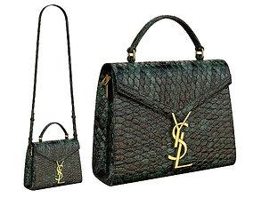 3D model YSL Saint Laurent Cassandra Mini Top Bag