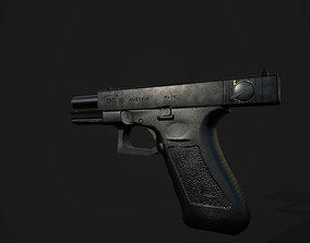3D asset Glock 18 G18