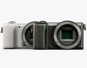 3D asset Sony A5100 Body mirrorless digital camera