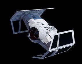 3D model space TIE ADVANCED X1