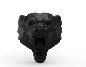 3D printable model Panther Ring in Us Size