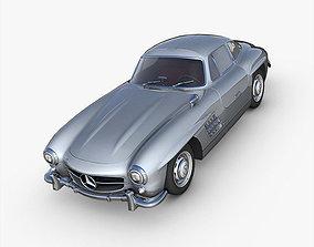 Mercedes-Benz 300SL Gullwing 3D model