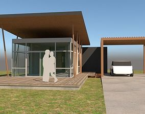 3D Small vacation house
