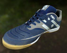 Sport shoe low poly 3D model low-poly
