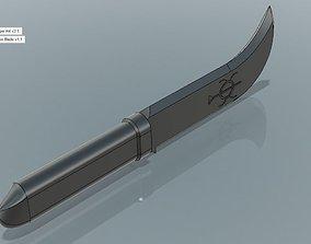 Solomons Dagger 3D printable model