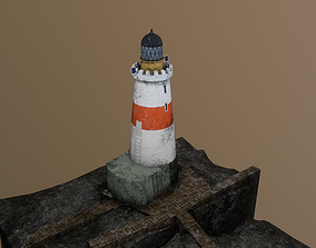 3D model Oxcars Lighthouse