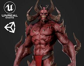 Horned Demon - Game Ready 3D model