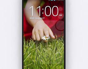 3D model LG G3 Mobile