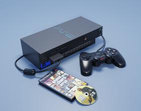 Playstation 2 3D asset