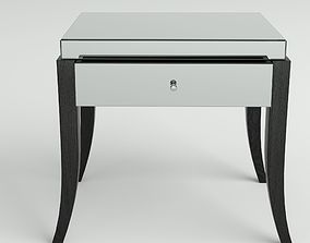 Mirror Bedside Table by Rooma Design 3D model