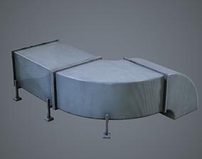 3D asset Air Conditioning Ducting HVAC Units