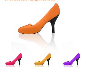 3D model womens Toe Heels