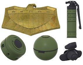 Dredd accessories 3D print model