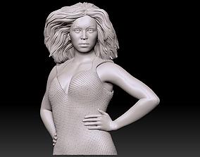 Beyonce Bust 3D Print likeness