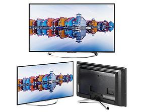 3D model TV LG 32LA620 Smart TV UHDTV 4K