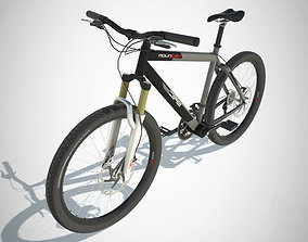 3D asset game-ready Mountain Bike with LOD