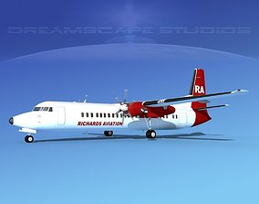 3D model Fokker F-60 Richards Aviation