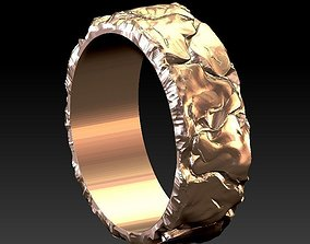 ring stone lava 3D printable model