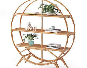 Irving Bookcase 3D