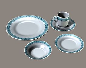 kitchenware Dishes 3D model