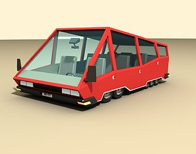 CAR 4 - Van 3D model game-ready