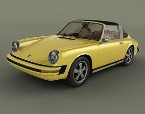 Porsche 911 Targa 1974 3D