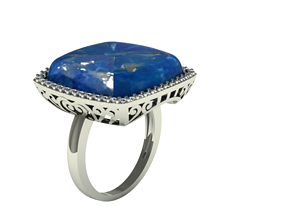 3D print model engagement cushion ring