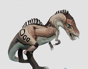 3D model Cartoon T-Rex Dinosaur