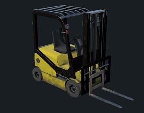 sideloader 3D model realtime PBR Forklift
